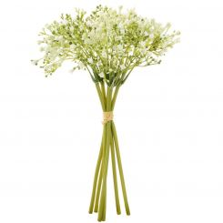 Pavilion Flowers Artificial Baby Breath / Gypsophila Bouquet White Height 28cm