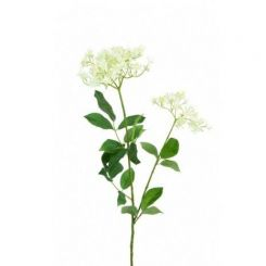 Pavilion Flowers Artificial Queen Anne's Lace Cream Height 73cm