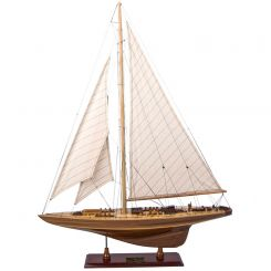 Authentic Models Endeavour Yacht Model