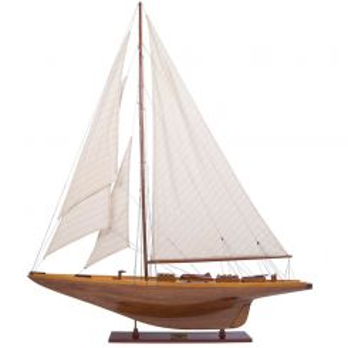 Authentic Models Shamrock Model Yacht