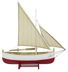 Authentic Models Biscay Fishing Boat, Red