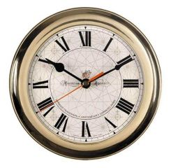 Authentic Models Brass Ships Clock