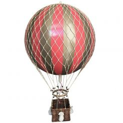 Authentic Models Hot Air Balloons Replica Large in Metallic