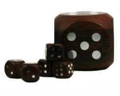 Authentic Models Dice In Silver