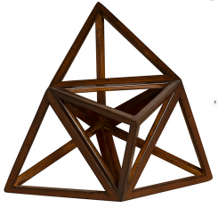Authentic Models Elevated Tetrahedron