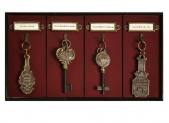 Authentic Models Grand Hotel Key Rack