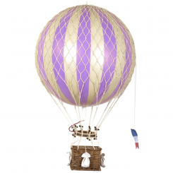 Authentic Models Hot Air Balloon Replica - Lavender