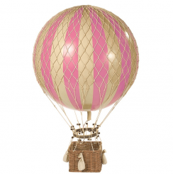 Authentic Models Hot Air Balloon Replica - Pink