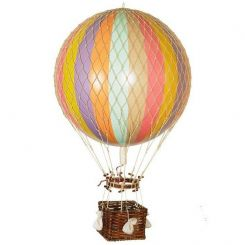 Authentic Models Hot Air Balloon Replica Thin Stripe - Large