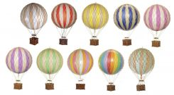 Authentic Models Hot Air Balloons Thin Stripe - Small
