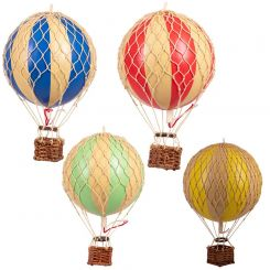Authentic Models Hot Air Balloons Thick Stripe - Small