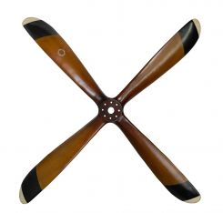 Authentic Models Propeller Four Blade Wooden