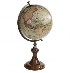 Authentic Models Replica Mercator Globe On Stand