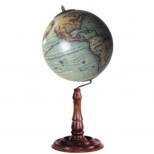 Authentic Models Replica Vaugondy 1745 Globe On Stand