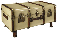 Authentic Models Stateroom Trunk Table