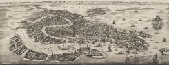 Authentic Models Venice Map 1694