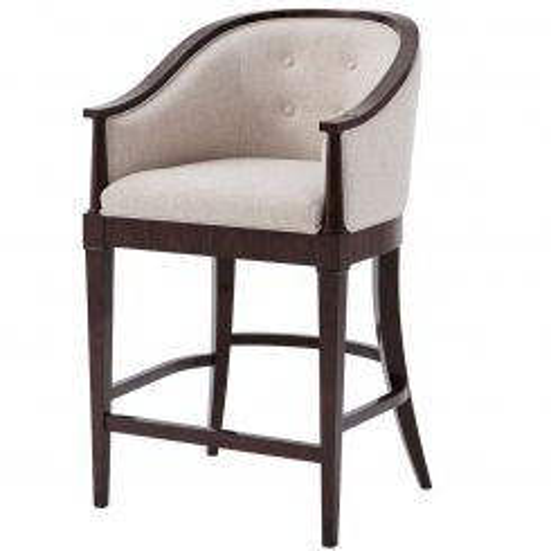 Theodore Alexander Bar Chair Chapin - COM