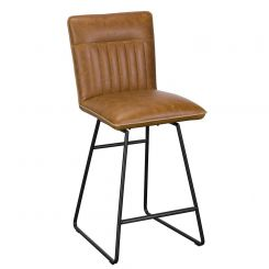 Pavilion Chic Bar Stool Cooper in PU Leather