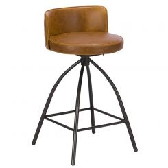 Pavilion Chic Bar Stool Dylan in PU Leather