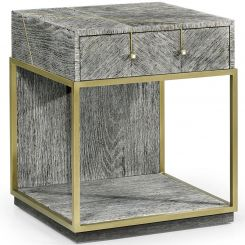 Jonathan Charles Bedside Table Transitional