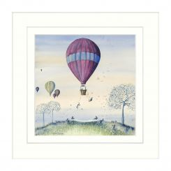 Pavilion Art Bunny Bungee by Catherine Stephenson - Framed Print