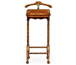 Jonathan Charles Valet Stand Victorian Mother of Pearl