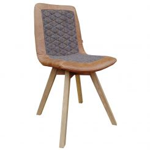 Carlton Furniture Dining Chair Carter in Harris Tweed