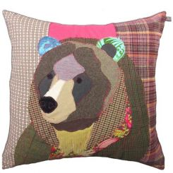 Carola Van Dyke Cushion Bear