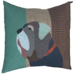 Carola Van Dyke Cushion Duke The Mastiff