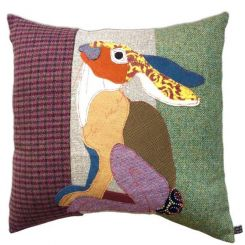 Carola Van Dyke Cushion Moon Hare