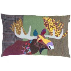 Carola Van Dyke Cushion Moose