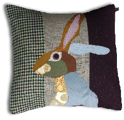 Carola Van Dyke Cushion Rabbit