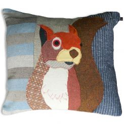 Carola Van Dyke Cushion Squirrel