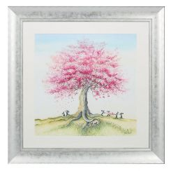 Pavilion Art Catching The Blossom by Catherine Stephenson - Framed Canvas Print