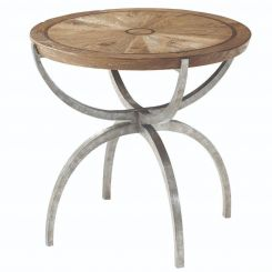 Theodore Alexander Round Side Table Weston