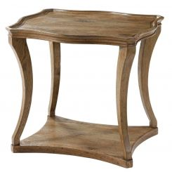 Theodore Alexander Serpentine Side Table Ennis