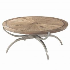 Theodore Alexander Round Coffee Table Weston