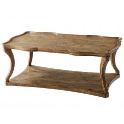 Theodore Alexander Serpentine Coffee Table Ennis