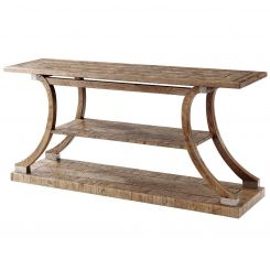 Theodore Alexander Arched Console Table Arden - Echo Oak