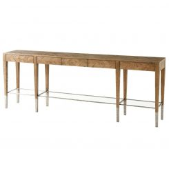Theodore Alexander Long Console Table Calhoun - Echo Oak