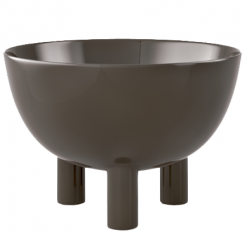 Calligaris Centrepiece Bowl Lift in Grey Taupe