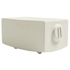 Calligaris Ceramic Piggy Bank Teo Doro in Cream