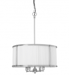 Eichholtz Chandelier Hammond Nickel Finish
