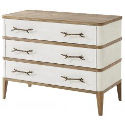 Theodore Alexander Chest of Drawers Brandon - Bronze Smooth Coral