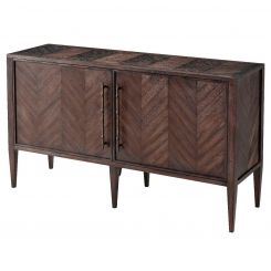 Theodore Alexander Chest of Drawers Burnet II - Wooden Parquetry