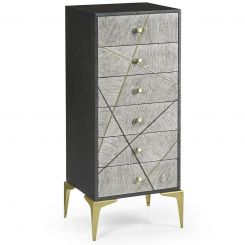 Jonathan Charles Tall Chest of Drawers Transitional