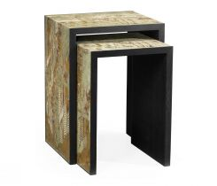 Jonathan Charles Nest of Tables Chinoiserie Style