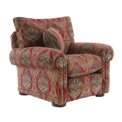 Duresta Clearance Astoria Chair in Alnwick Russet Stone