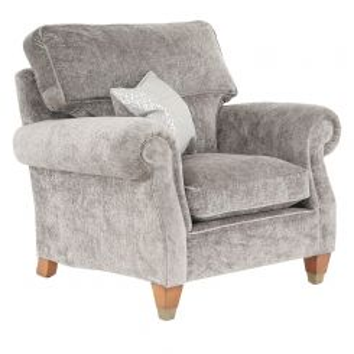 Duresta Clearance Beresford Chair High Back in Camden Mink