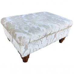 Duresta Clearance Footstool Cheltenham in Blessington Sand
